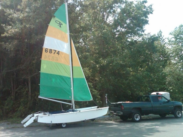 Prindle 16 - Dinghy - Overview | The Boat Register on Sailing Networks